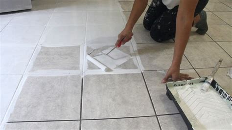 The Secret is Out! How to Stencil a Tile Floor   Hometalk