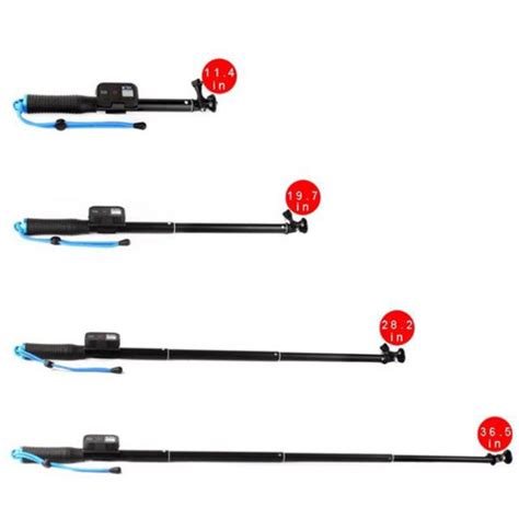 Monopod With Wireless Remote Slot 93cm For Gopr Murah 2 Monopod With Wireless Remote Slot 93cm For Gopro