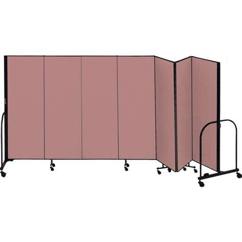 portable room dividers screenflex fsl807 8 h portable room divider 7 panels schoolsin