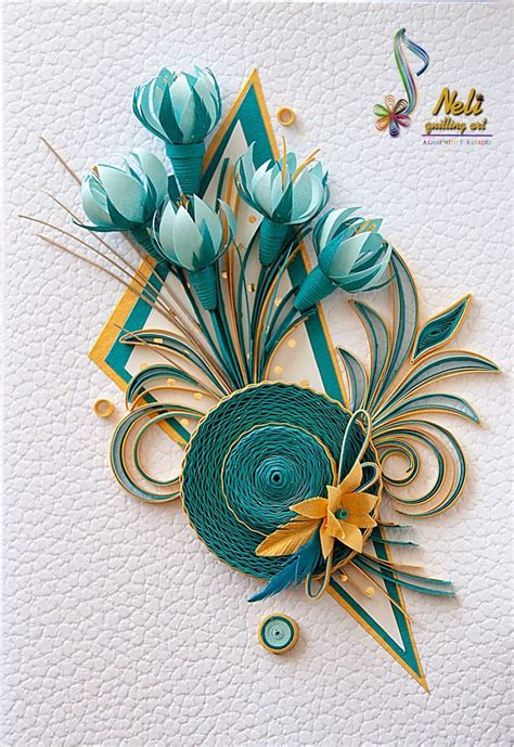Craft Work Paper Flowers - 1000 ideas about neli quilling on quilling