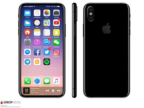 8 To Look Like This by It Looks Like The Iphone 8 Will Be Even Sleeker Than We