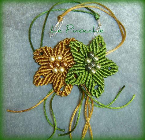 schema fiore macramè le pinocchie due grossi fiori in macram 232