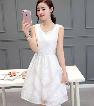 Dress Pesta Putih Import Murah dress pesta warna putih motif model terbaru