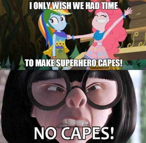 No Capes Meme - 1259106 crossover edit edited screencap edna mode