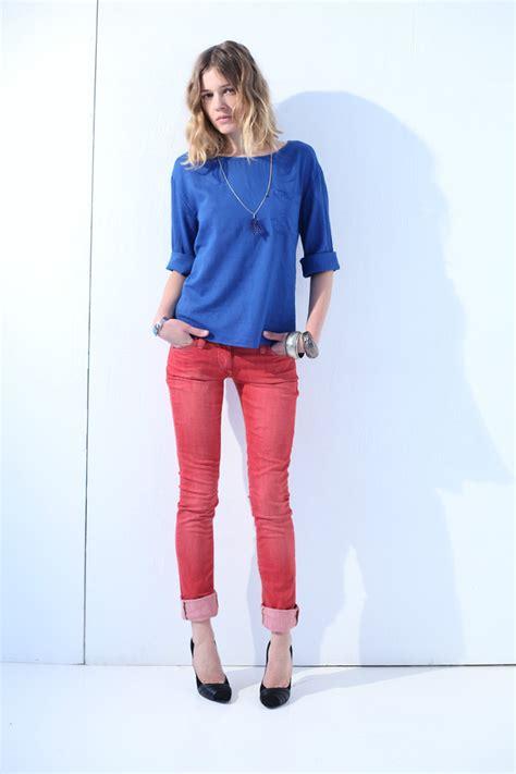 Lidiya Blouse vestiaire collective laurence dolige blue blouse ba sh