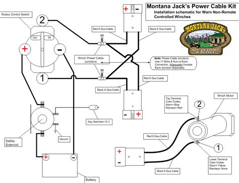 wiring diagram atv winch wiring diagram how to wire warn