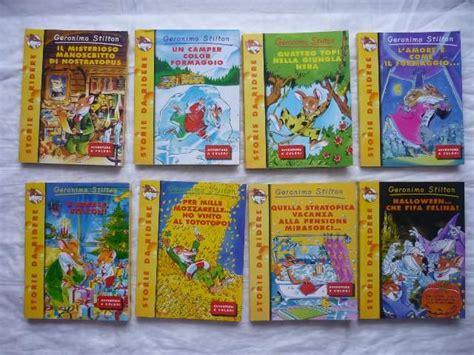 casa editrice tea libri della serie di geronimo e tea stilton a colle di