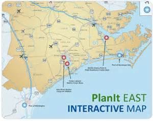 interactive map of carolina plan it east