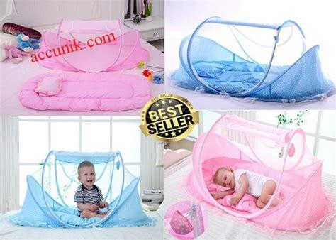 Jual Tempat Tidur Bayi Kelambu by Jual Tempat Tidur Kasur Bantal Bayi Kelambu Sepaket