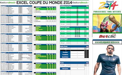 excel coupe du monde 2014 fichier excel du mondial 224