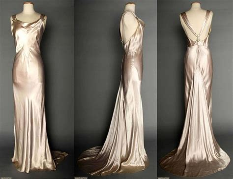 1930s style prom dresses formal dresses evening gowns my goals open back dresses and back silver satin evening gown 1930s silver pale lavender silk charmeuse bias cut sleeveless gown