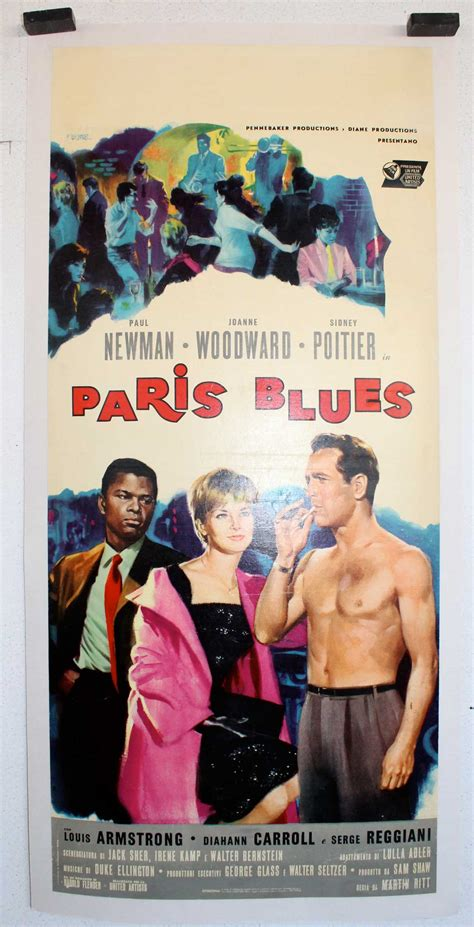 film it drogówka quot paris blues quot movie poster quot paris blues quot movie poster