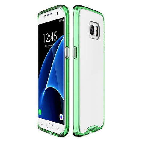 c series cover for samsung galaxy s7 edge green qmadix
