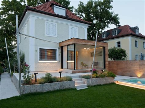Kosten Veranda Anbau by Glass Extension For An Aged House In Salzburg Austria