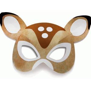 printable mask of deer silhouette design store view design 71836 3d deer mask