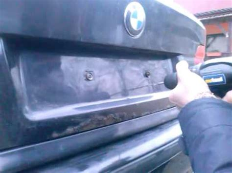 how to open a bmw how to open bmw trunk when broken switches