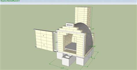 Wood Fired Kiln Plans
