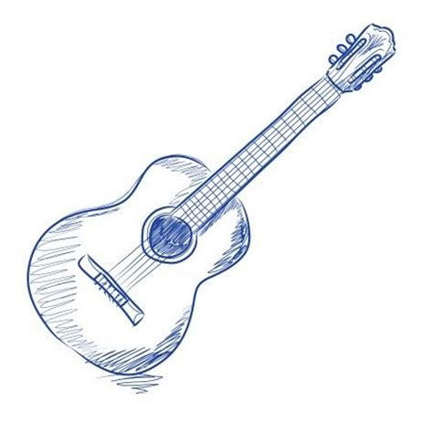 Guitar Sketches Drawing