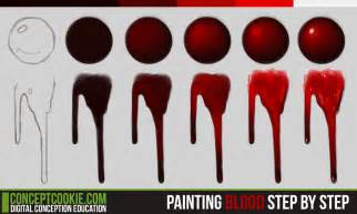 blood paint how to draw dripping blood apps directories