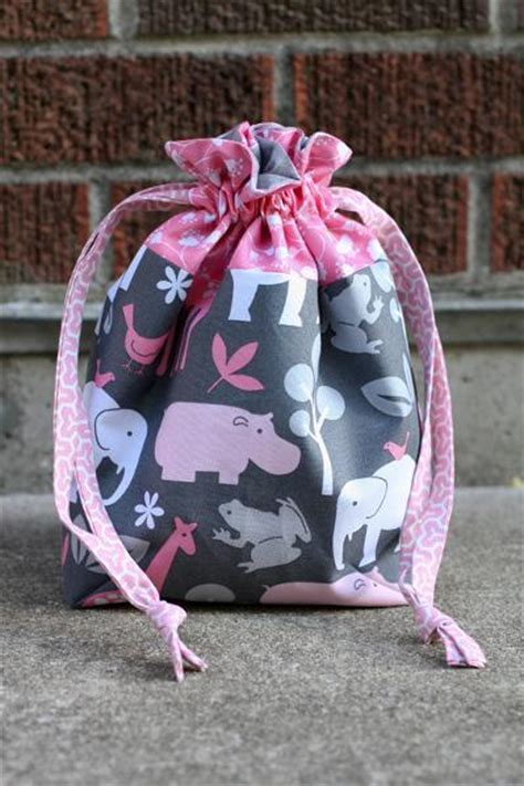 pattern lined drawstring bag you have to see lined drawstring bag by jeni baker