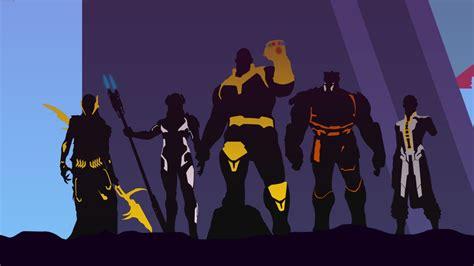 avengers infinity war thanos artwork wallpapers hd