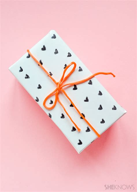 valentines wrapping paper adorable s day wrapping paper you can make in a