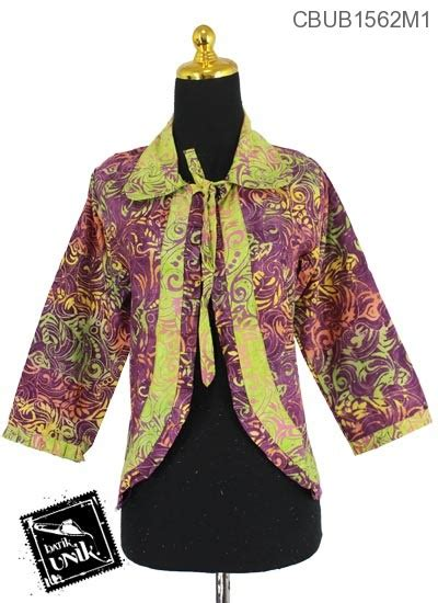 Gamis Akasia bolero wiru motif jalu akasia batik wanita exclusive