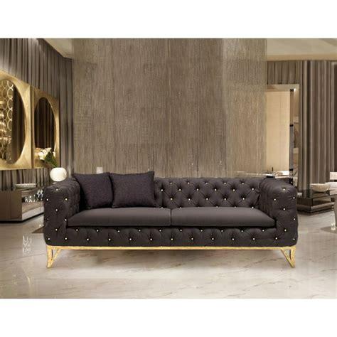 black velvet sofa uk buy stylish milan black velvet sofa designer black