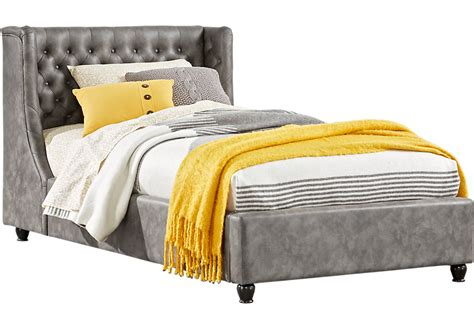rooms to go twin beds design studios alena daybed alena charcoal 2 pc twin daybed