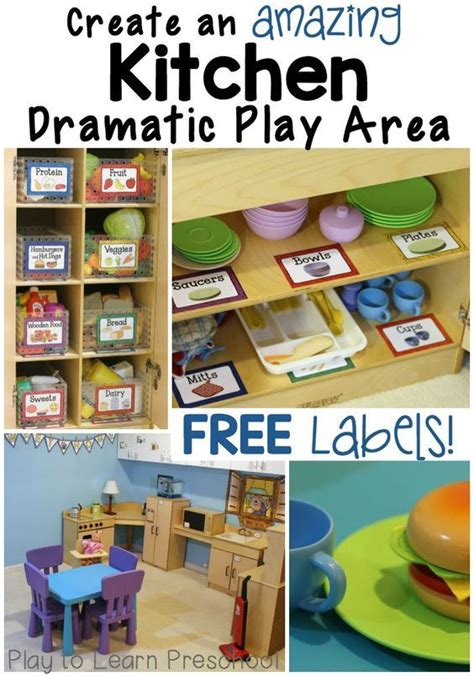 Kitchen Area Labels 1000 Ideas About Preschool Labels On