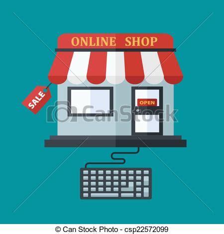 Little House Plans Free eps vectors of online shop sale concept online or e