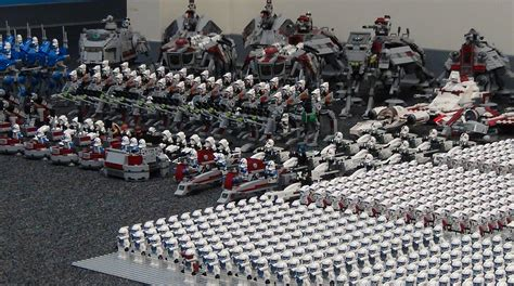 Lego Cb Toys Wars Vehicle Elite Corps Troopers 75047 my new lego clone army part 2 starwars legos