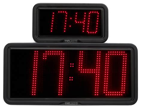 Led Digital large digit led real time clocks date temperature