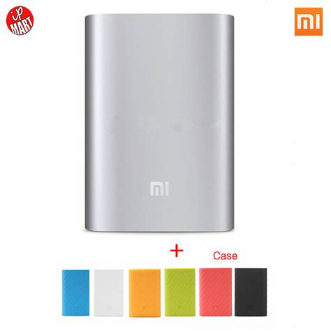 Power Bank Mi Slim original xiaomi mi power bank 10000 mah li ion polymer usb