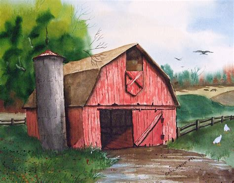 red barn old red barn photography www pixshark com images