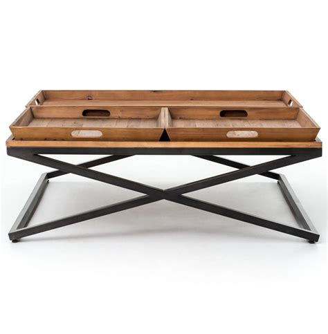 coffee tables ideas tray top coffee table furniture