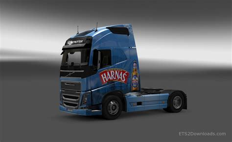 volvo 2013 truck harnas skin for volvo fh16 2013 euro truck simulator 2 mods