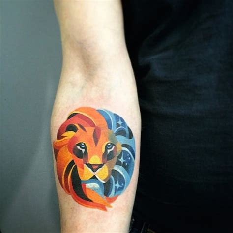 watercolor tattoo unisex this geometric inspired artist is our next