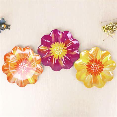 Piring Kue Keramik Porselen 6 Inch Polos buy grosir colorful plate from china colorful plate penjual aliexpress alibaba