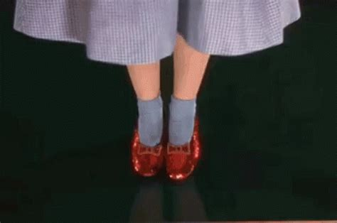 dorothy gif wizard of oz gif shoes dorothy redslippers discover