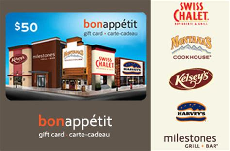 Bon Appetit Gift Card - win a 50 bon appetit gift card toronto draws daily draws coupons contests and