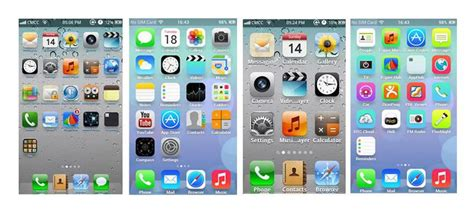 iphone layout android the 6 best launchers to turn your android into an iphone