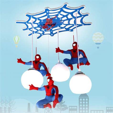 lampa sufitowa spiderman oswietlenie dla dzieci lampa