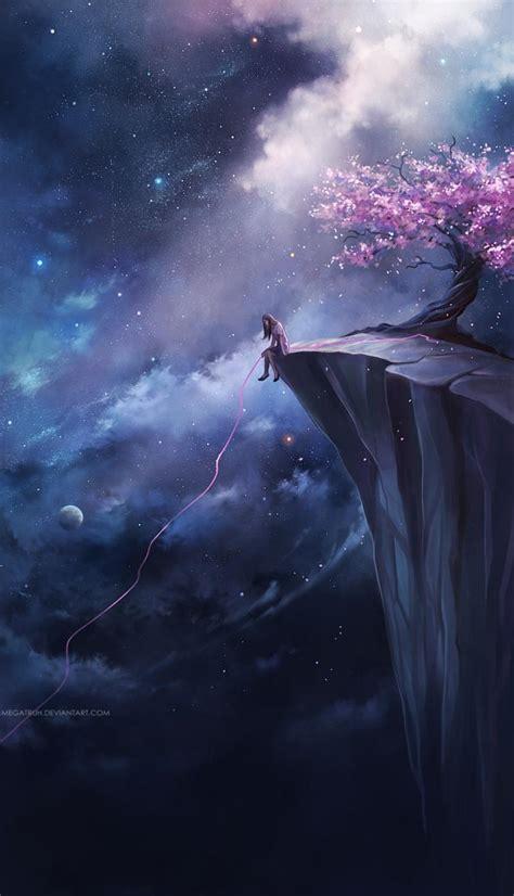 remarkable   dream scenery illustrations  niken