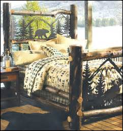 Lodge Themed Home Decor by Decorating Theme Bedrooms Maries Manor Log Cabin