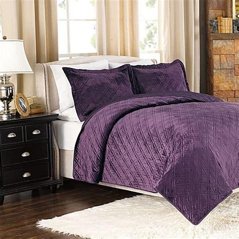plum coverlet buy designer quilt bedding sets from bed bath beyond