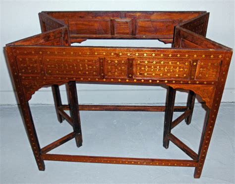 middle eastern side tables 8138 middle eastern moorish style teakwood table c1875