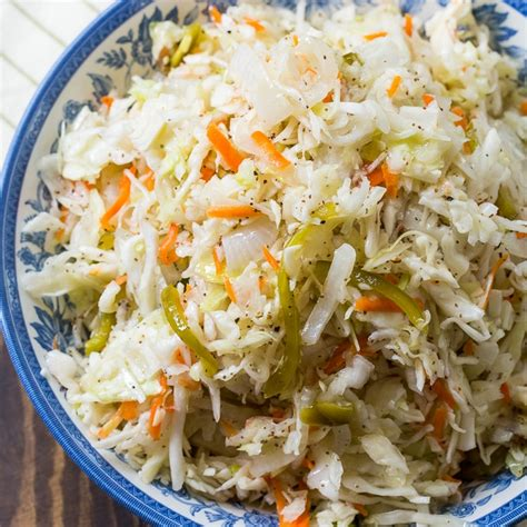 sweet vinegar coleslaw cooking and recipes blogs