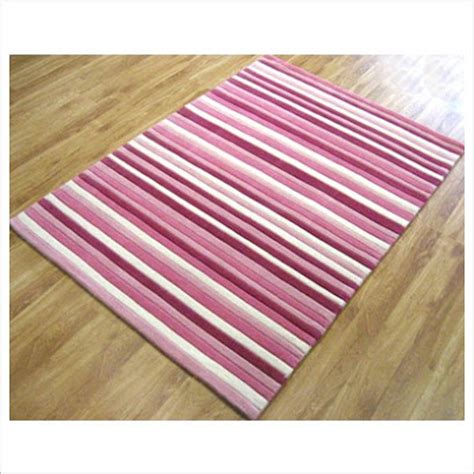 pink and white striped rug the australian etsy snuggly rugs