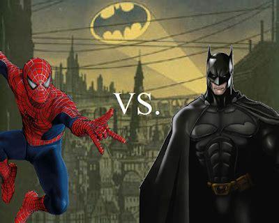 Set 3in1 Batman Vs Spider articles of destroyer battlezone spider vs batman